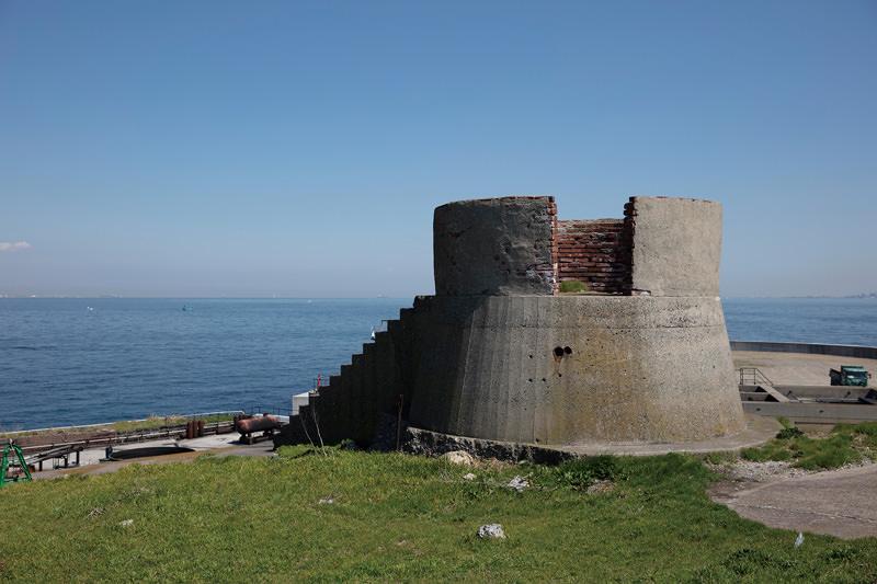 中央部砲塔観測台
