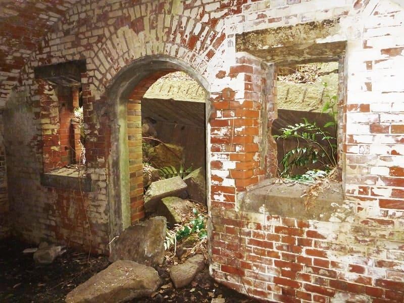 第一海堡掩蔽壕煉瓦