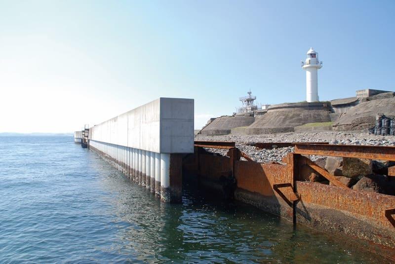 Revetment of No.2 Sea Fort