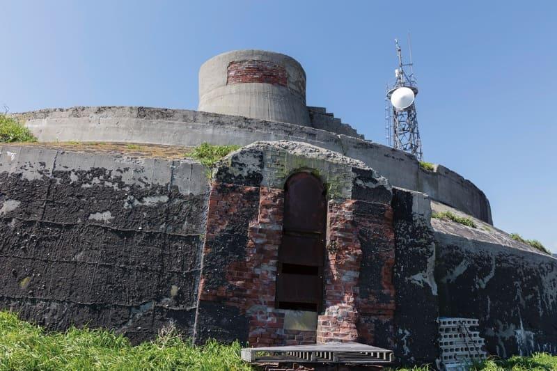 第二海堡中央部砲塔地下入り口