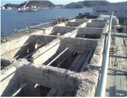 第三海堡防波堤