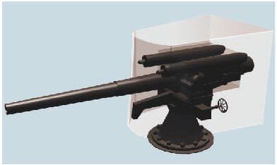 第三海堡砲台CG