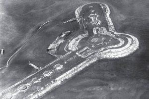 関東大震災直後に撮影された第二海堡