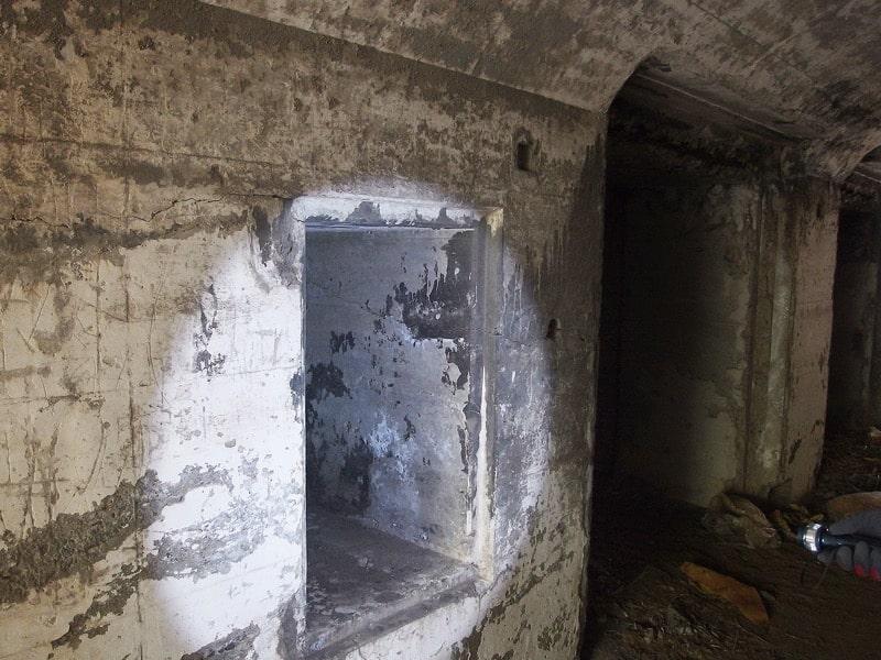 第一海堡掩蔽壕Con1