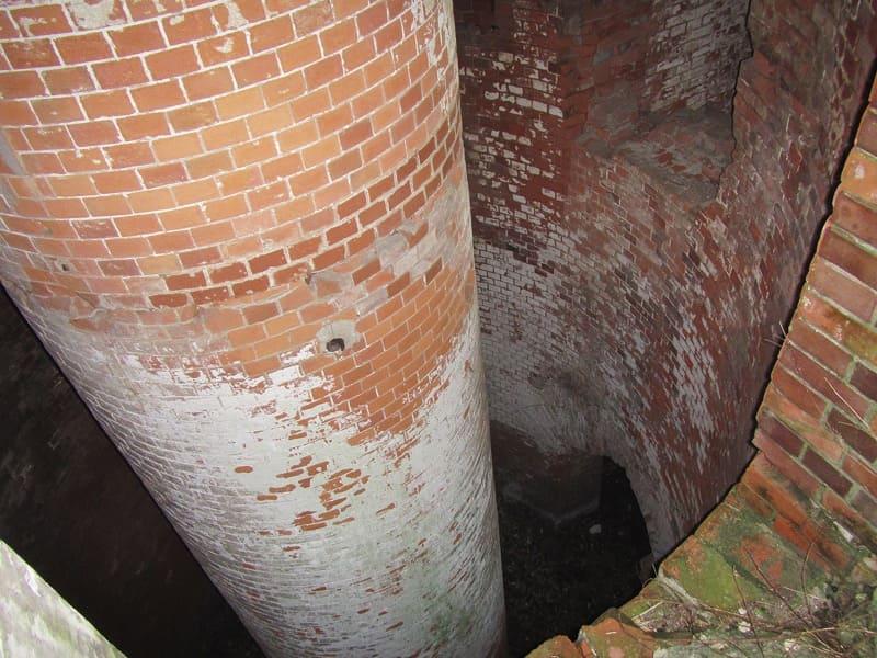 第一海堡煉瓦構造物