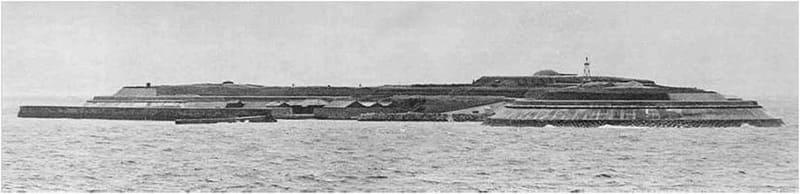 第二海堡完成当初の写真