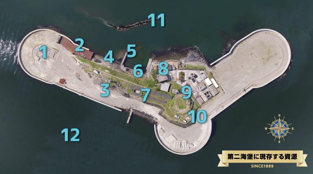 第二海堡の見どころ