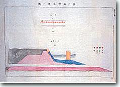 第三海堡基礎上部仮設計図