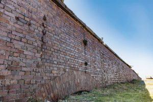 第二海堡北側掩蔽壕の外観